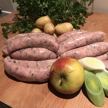 Wild boar and apple Sausages for Wholesale
